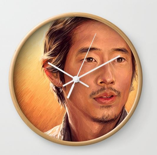 'I Will Find You' Wall Clock