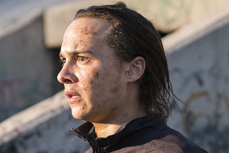 Frank Dillane as Nick Clark (Photo Credit: Michael Desmond/AMC)
