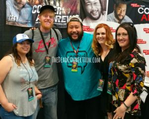 Cooper Andrews with the TDC Crew
