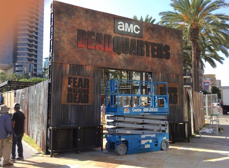 Dead Quarters at SDCC
