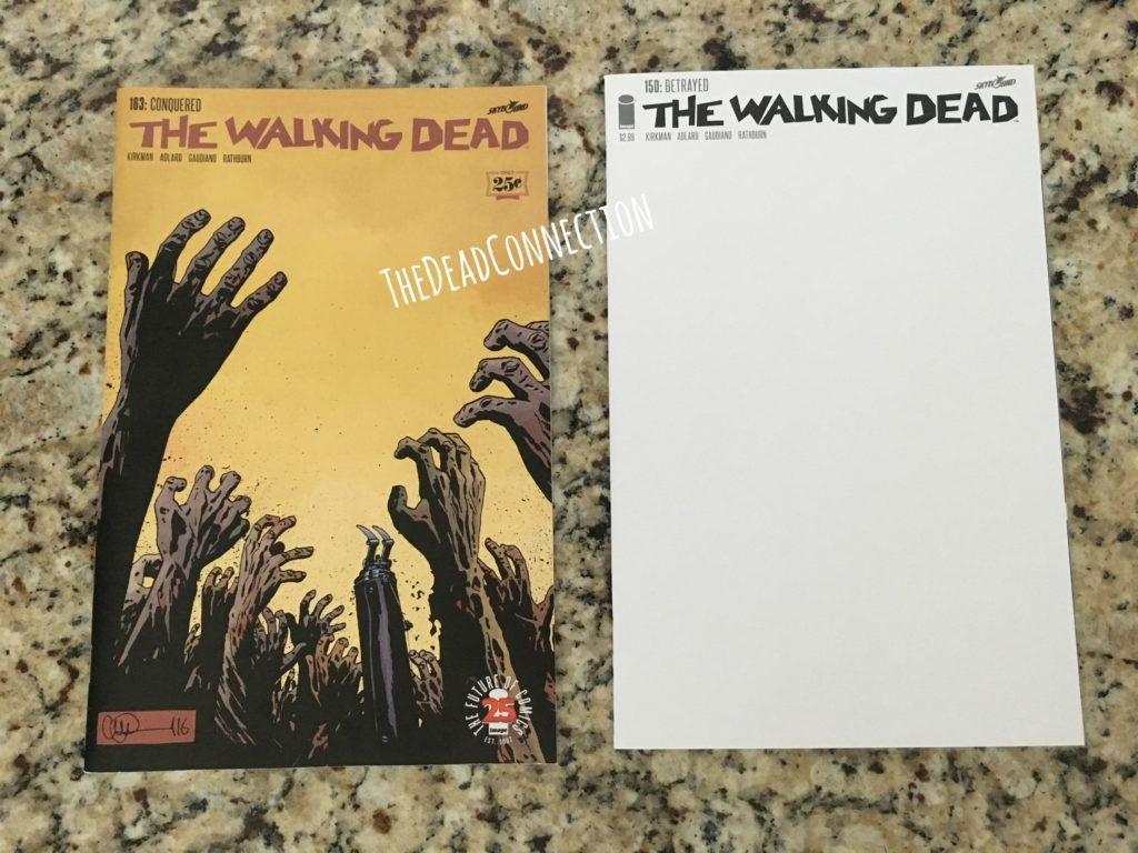 TWD Issue #163 & #150 Variant Cover